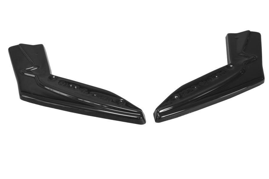 Maxton Design V1 Gloss Black Rear Side Splitters (Part Number:TOGT861FRSD1G)