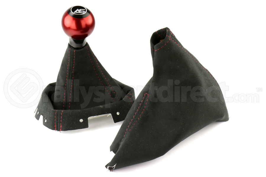 AutoStyled Shift and Brake Boot Kit w/ Shift Knob (Part Number:09-14WRX-KIT)