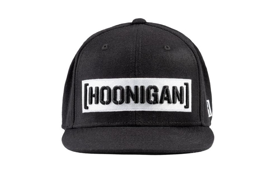 HOONIGAN Censor Bar Snapback Hat Black / White - Universal