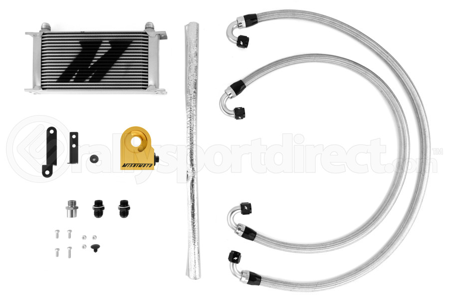 Mishimoto Thermostatic Oil Cooler Kit (Part Number:MMOC-STI-08T)