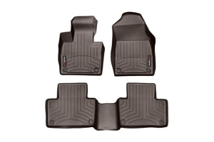 Weathertech Front and Rear Floorliners Cocoa - Subaru Outback 2020+
