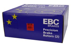 EBC Brakes BSD Series Sport V-Slotted Rear Brake Rotors - Subaru STI 2005-2007