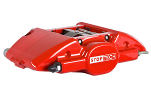 Stoptech ST-22 Big Brake Kit Rear 328mm Red Zinc Slotted Rotors - Subaru Impreza 2.5RS 1998-2001