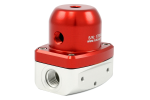 Fuelab Adjustable Fuel Pressure Regulator Red (Part Number: )