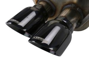 Corsa 3in Cat Back Exhaust System w/ Polished Black Tips - Subaru WRX / STI 2015+