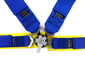 Sparco Harness Belt 4-Point Competition Blue (Part Number: )