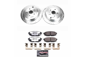 Power Stop Z23 Evolution Coated Brake Kit Rear - Subaru Tribeca 2006-2014