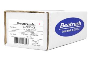 Beatrush Q45 Round Shift Knob White - Scion FR-S 2013-2016 / Subaru BRZ 2013+ / Toyota 86 2017+