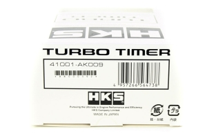 HKS Turbo Timer Type-0 Red Back Light Black (Part Number: )