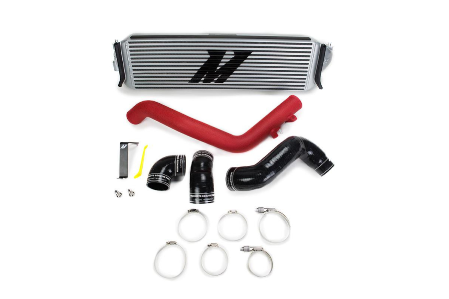 Mishimoto Performance Intercooler Kit Red Piping/Silver Core - Honda Civic Type R 2017+