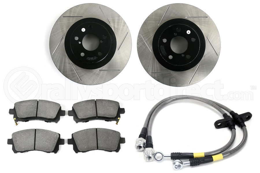Stoptech Sport Kit Slotted Front (Part Number:977.47000F)