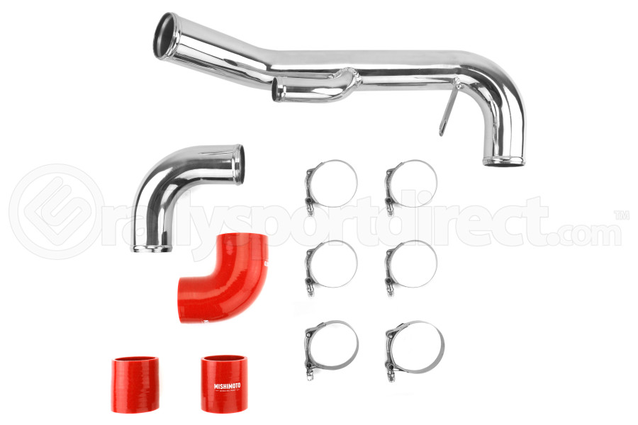 Mishimoto Lower Intercooler Pipe Red ( Part Number:MIS MMICP-EVO-10LRD)