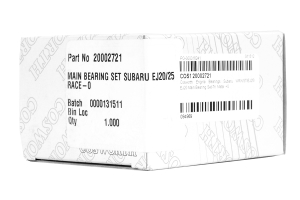 Cosworth Main Bearing Set Size 0 ( Part Number:COS1 20002721)