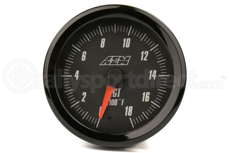 AEM Exhaust Gas Temperature Gauge 0-1800F 52mm (Part Number:30-5131)