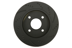 EBC Brakes 3GD Series Sport Dimpled/Slotted Rear Brake Rotors - Ford Fiesta ST 2014+