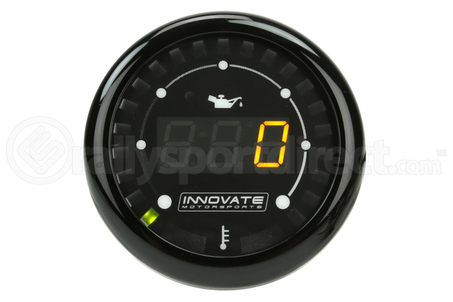Innovate Motorsports MTX Digital Oil Pressure/Temp Gauge (Part Number:3913)