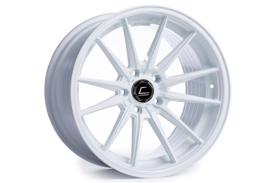 Cosmis Racing Wheels R1 18x10.5 +30 5x114.3 White - Universal