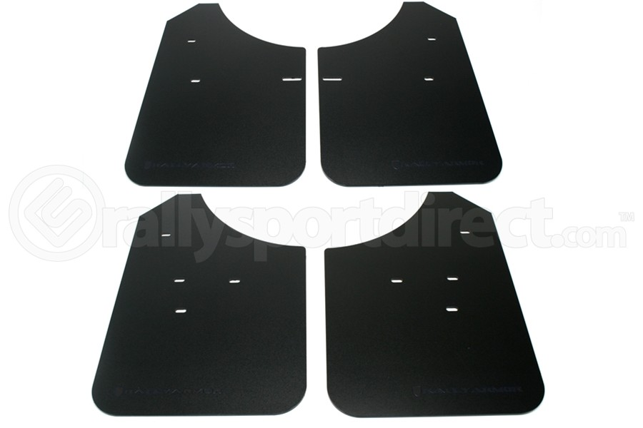 Rally Armor Classic Mud Flaps Black Logo (Part Number:MF1-BLK)