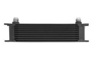 Mishimoto Universal 10 Row Oil Cooler Black ( Part Number: MMOC-10BK)