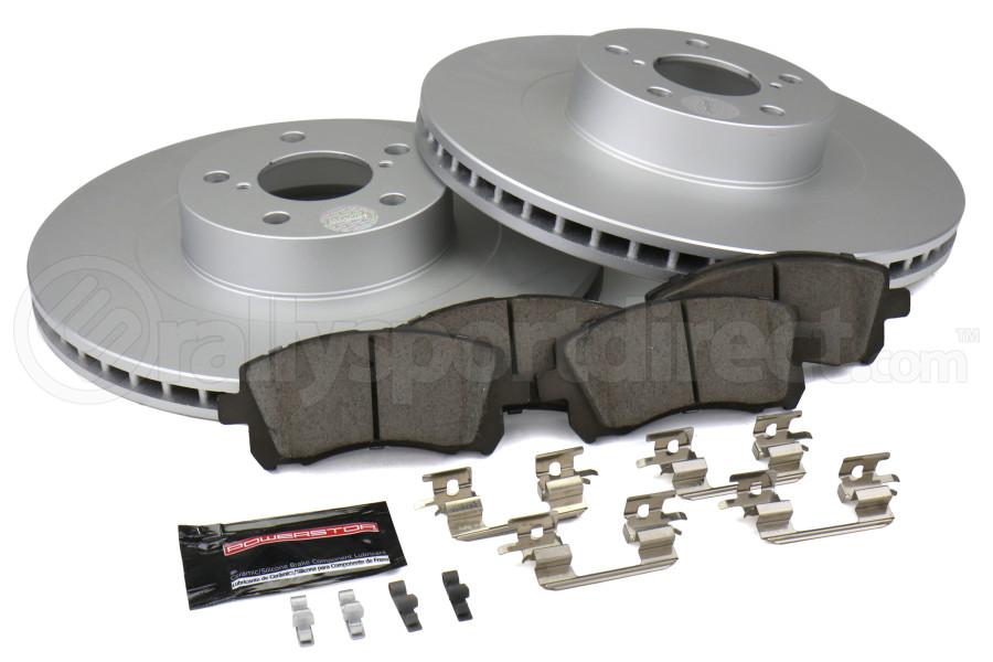 Power Stop Z17 Coated Brake Kit Front - Subaru Models (inc. 2002 WRX / 1999-2001 2.5RS)