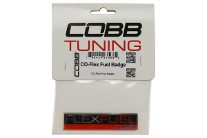 COBB Tuning Flex Fuel Badge (Part Number: )