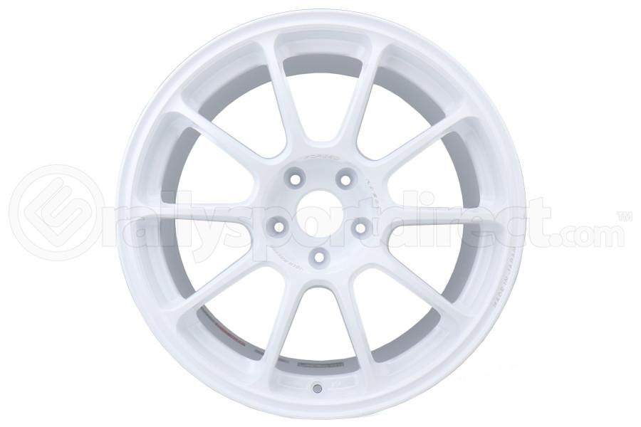 Volk ZE40 18x9.5 +38 5x114.3 Dash White - Universal