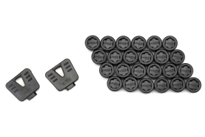 Muteki SR45R Plastic Caps Black - Universal