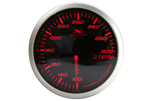 STRi X-Line V2 Series Oil Temp Gauge 52mm ( Part Number:STR XS5204A.2)