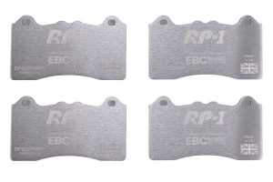 EBC Brakes RP1 Racing Brake Pads - Ford Focus RS 2016 - 2018