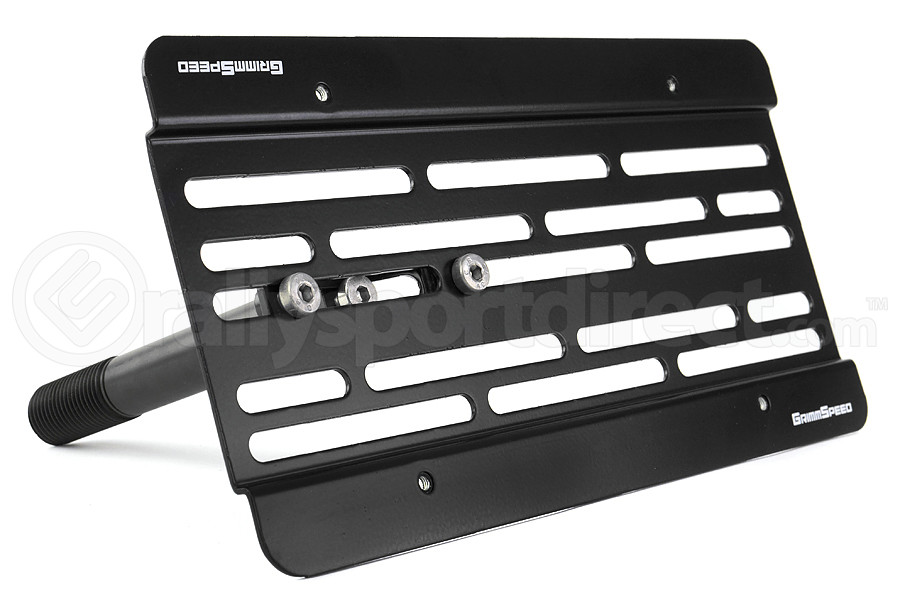 GrimmSpeed License Plate Relocation Kit (Part Number:094021)