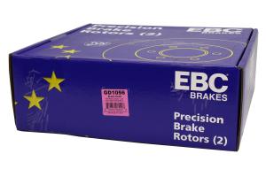 EBC Brakes 3GD Sport Dimpled/Slotted Front Brake Rotors - Subaru STI 2004