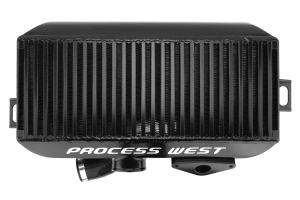 Process West Black Top Mount Intercooler - Subaru STI 2008+