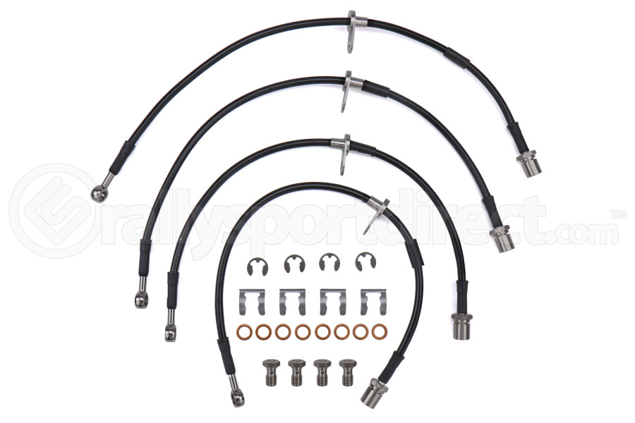 Goodridge Front and Rear Stainless Steel Brake Lines - Subaru STI 2008-2014