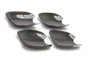 OLM S-line Dry Carbon Fiber Door Handle Inserts - Subaru WRX / STI 2015+