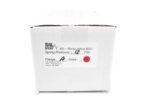 Tial Alpha Q Recirculating Blow Off Valve 12 psi Red ( Part Number:TIA AQ.12R)