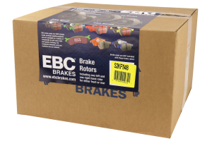 EBC Brakes S2 Front Brake Kit Greentuff Pads and USR Rotors - Mazdaspeed3 2007-2013