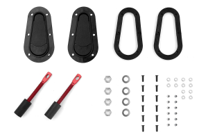 Aerocatch Hood Pins Flush Non-Locking Kit (Part Number: )