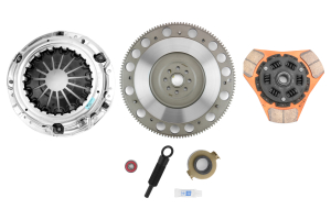 Exedy Stage 2 Cerametallic Disc Clutch Kit w/ Flywheel - Subaru Models (inc. 2006+ WRX / 2005-2009 Legacy GT)