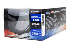Defi Blue Racer Temperature Gauge Metric 60mm 30-150C (Part Number: )