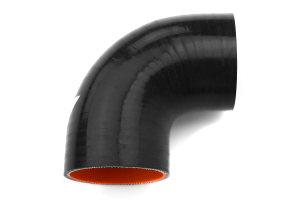 Mishimoto Silicone Elbow 90 Degree 2.5in Black (Part Number: )
