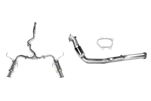 Turbo-Back Exhaust Stainless Steel Tip System (Part Number: )