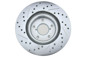 Stoptech C-Tek Sport Drilled and Slotted Rotor Single Front Left - Subaru Models (inc. 1998-2001 Impreza 2.5RS)