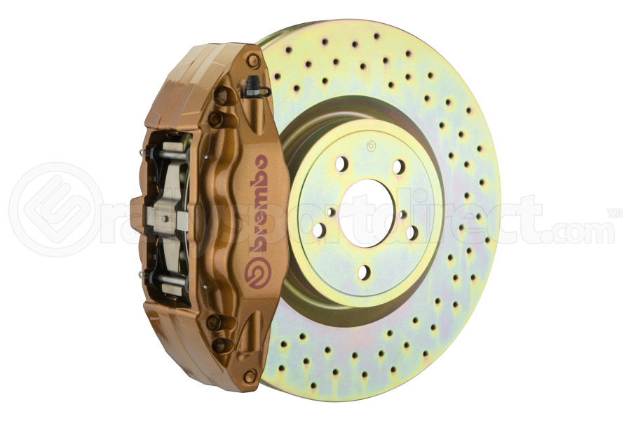 Brembo OE Gold Drilled Brake Kit Front - Subaru WRX 2015+