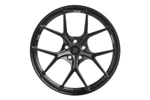 Titan 7 T-S5 18x10.5 +25 5x120 Machine Black - Universal