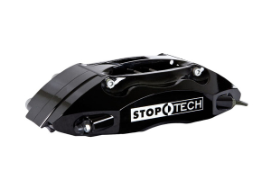 Stoptech ST-40 Big Brake Kit Front 355mm Black Slotted Rotors (Part Number: 83.836.4700.51)
