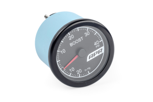 APR Boost Gauge Red Needle - Universal