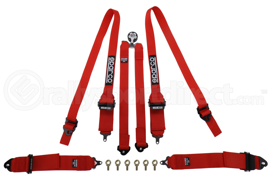 Sparco Belt 3 Inch 6-Point Hans Harness - Universal