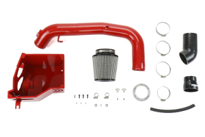 cp-e aIntake Wet Flow Intake System w/ Air Box Race Red - Ford Focus ST 2013-2014