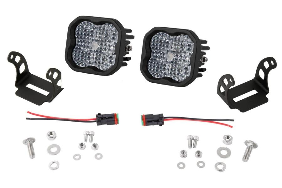 Diode Dynamics SS3 Pod Max Flood Light Kit White - Universal