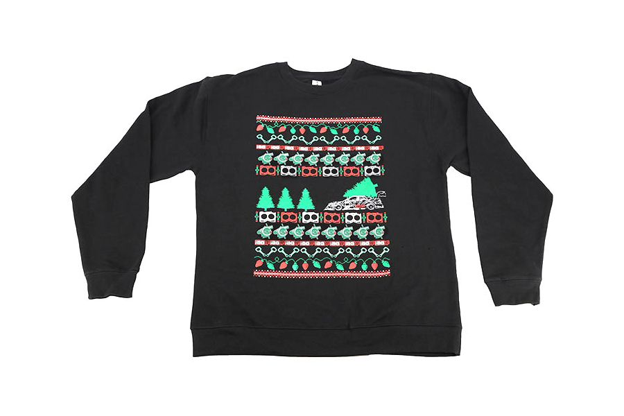 IAG Men's Ugly Christmas Crew Neck Sweatshirt Black - Universal